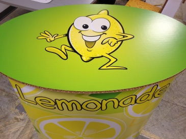 With its vibrant colors and fun designs, the Lemonade Stand is what you secretly wish you had growing up!
