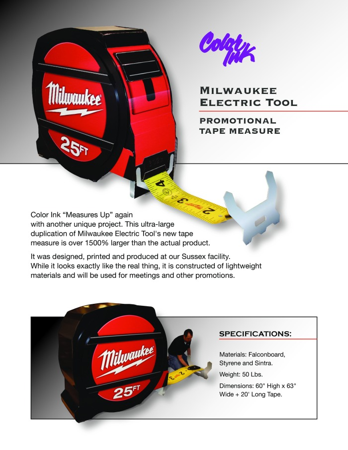 Milwaukee Tool Tape Measure